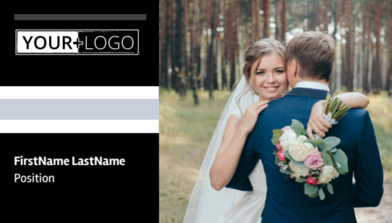 Wedding Planners Business Card Template Preview 2