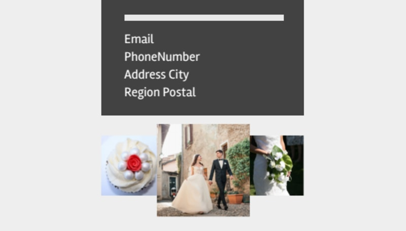 Wedding Planners Business Card Template Preview 3