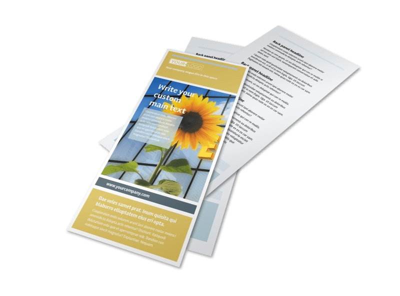 Clean Energy Consultants Flyer Template 2