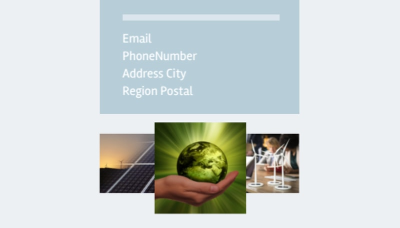 Clean Energy Consultants Business Card Template Preview 3