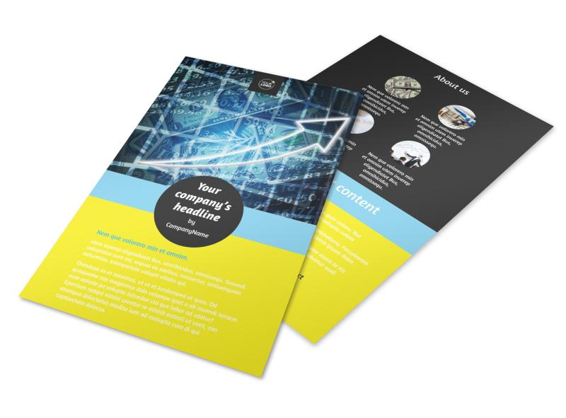 Investment Advisor Flyer Template 3