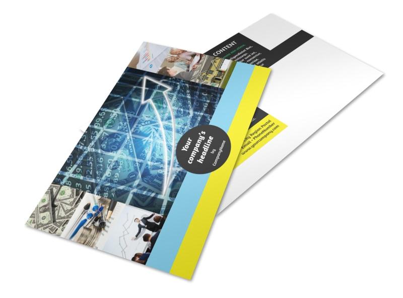 Investment Advisor Postcard Template 2