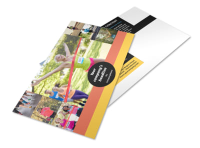 City Running Club Postcard Template 2 preview