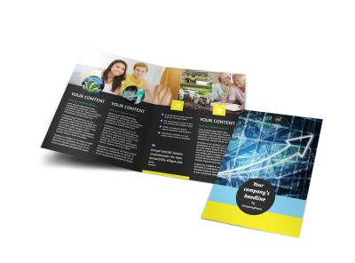 Investment Advisor Bi-Fold Brochure Template preview