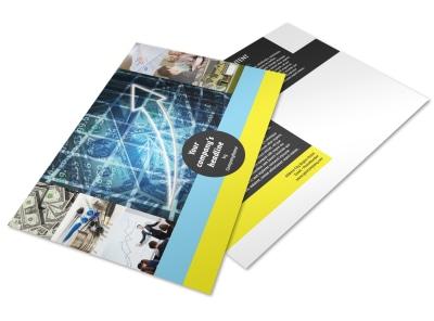 Investment Advisor Postcard Template