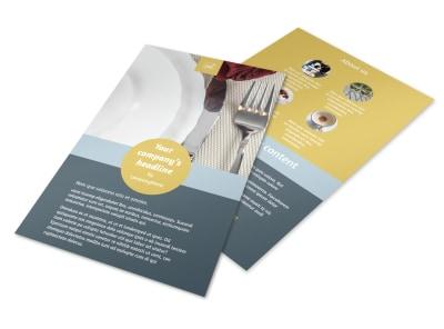 Dinnerware & Kitchen Supplies Flyer Template 3