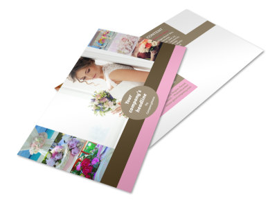 Wedding Florists Postcard Template 2