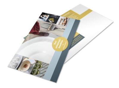 Dinnerware & Kitchen Supplies Postcard Template 2 preview