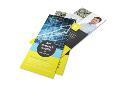 Investment Advisor Rack Card Template 2
