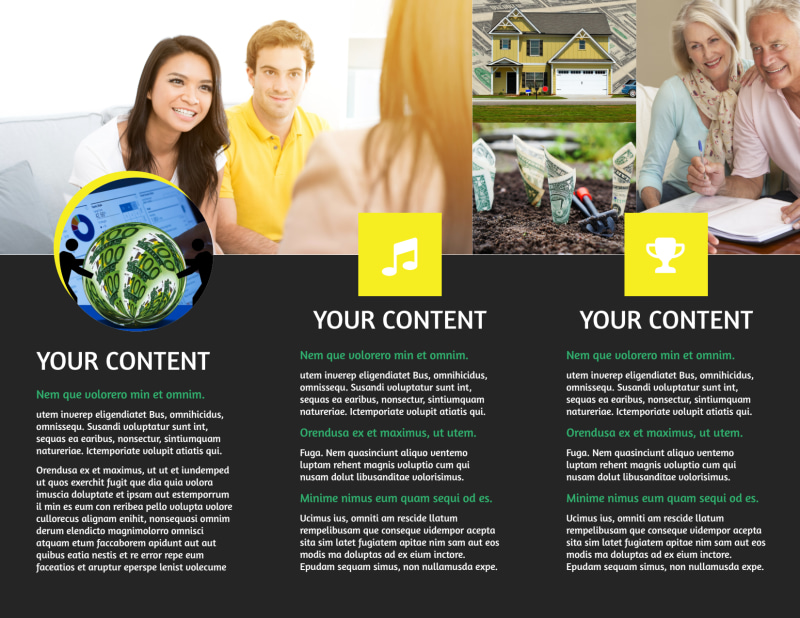 Local Financial Advisors Brochure Template Preview 3