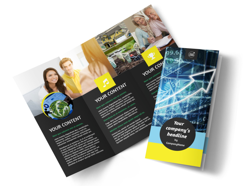 local financial advisors brochure template