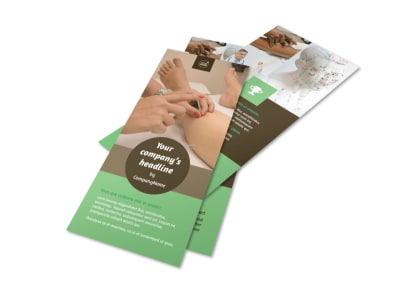Acupuncture Clinic Flyer Template 2
