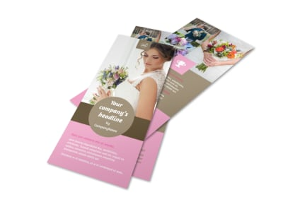 Wedding Florists Flyer Template 2