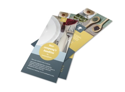 Dinnerware & Kitchen Supplies Flyer Template 2