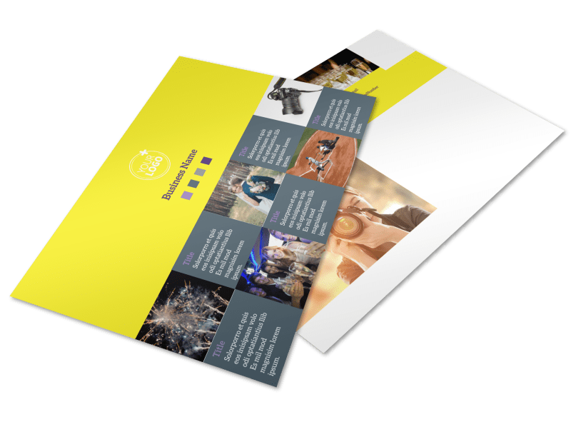 Event Photography Postcard Template Preview 1