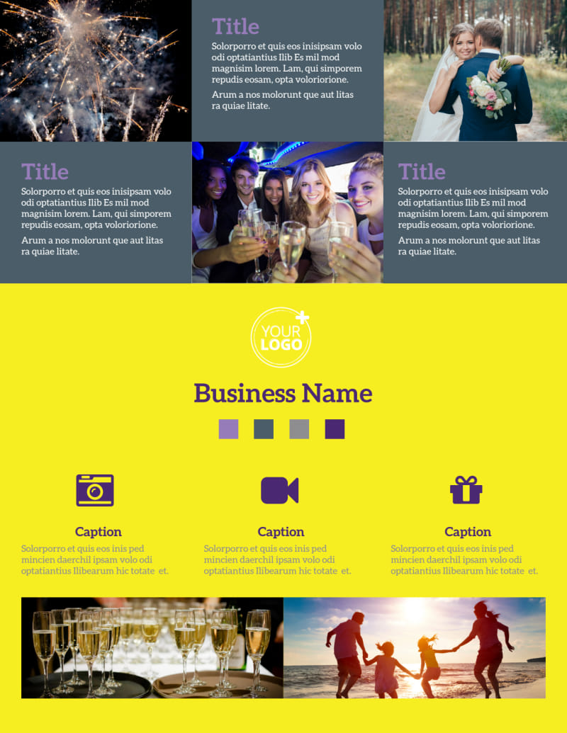 Event Photography Flyer Template Preview 2
