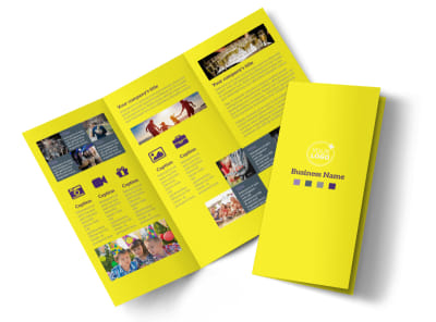 Event Photography Tri-Fold Brochure Template