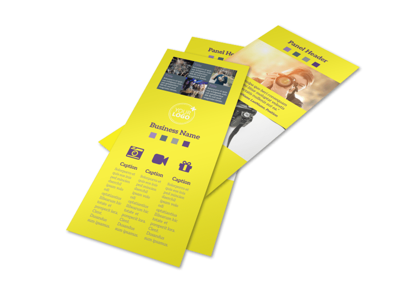 Event Photography Flyer Template Preview 1