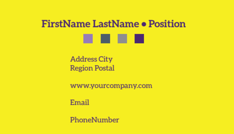 Event Photography Business Card Template Preview 3