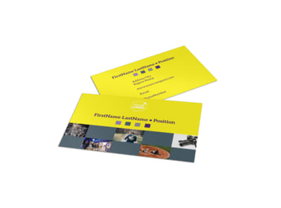Event Photography Business Card Template preview
