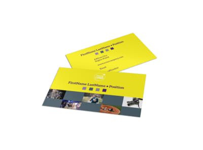 Event Photography Business Card Template