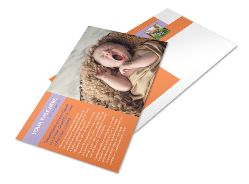 Baby Photography Postcard Template Preview 4