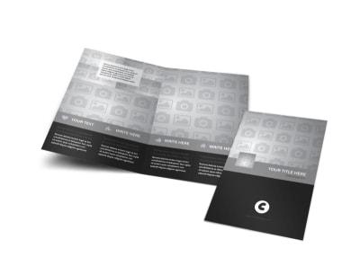 Generic Bi-Fold Brochure Template 9508