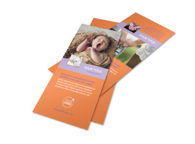Baby Photography Flyer Template 2