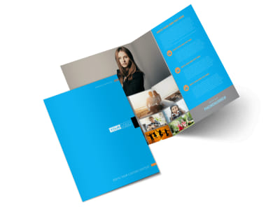 General Photography Bi-Fold Brochure Template 2