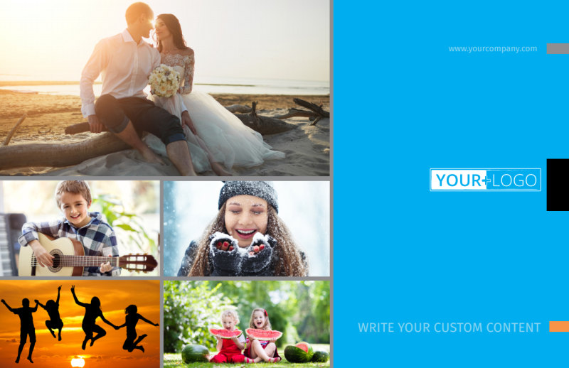 General Photography Postcard Template Preview 2