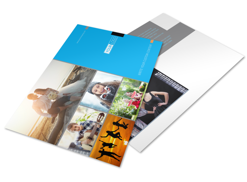 General Photography Postcard Template Preview 1
