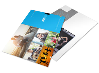 General Photography Postcard Template preview