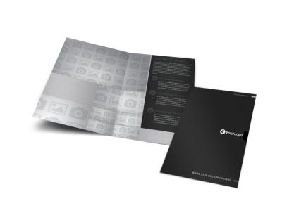 Generic Bi-Fold Brochure Template 9517