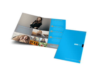 General Photography Bi-Fold Brochure Template