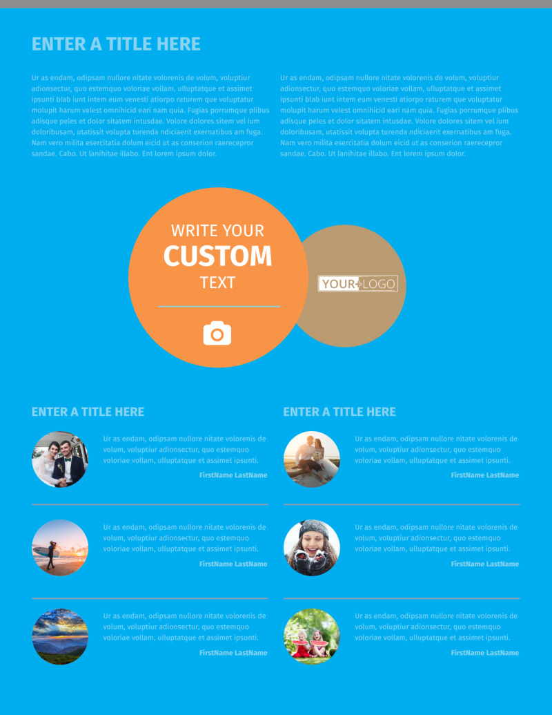 General Photography Flyer Template Preview 2