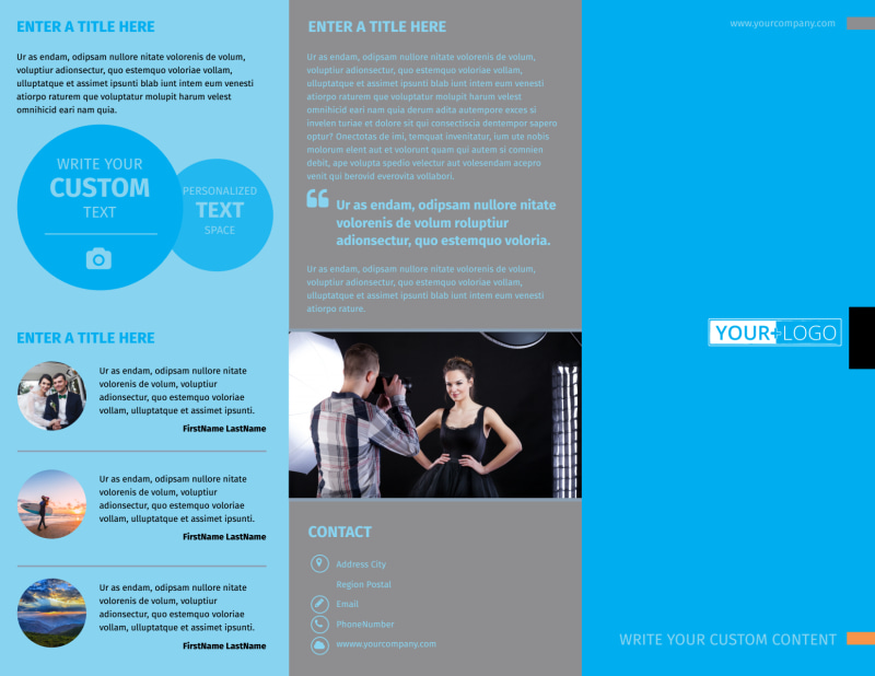 General Photography Brochure Template Preview 2