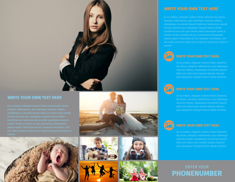 General Photography Brochure Template Preview 3