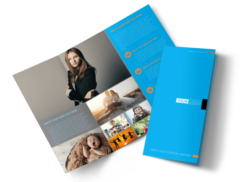 General Photography Brochure Template Preview 1