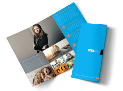 General Photography Tri-Fold Brochure Template preview