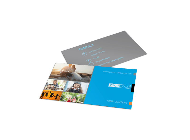 General Photography Business Card Template Preview 1
