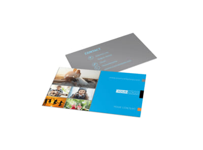 General Photography Business Card Template preview