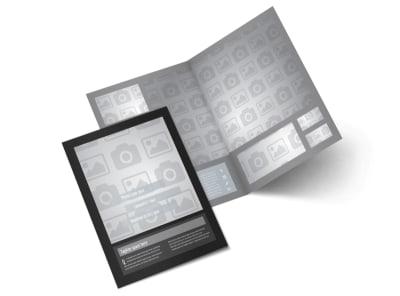 Generic Bi-Fold Brochure Template 9522