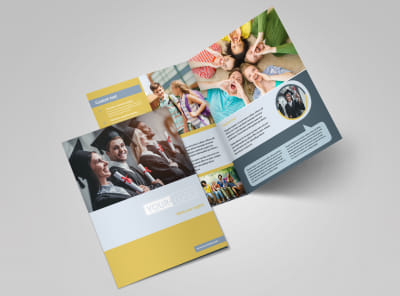 School Event Bi-Fold Brochure Template 2