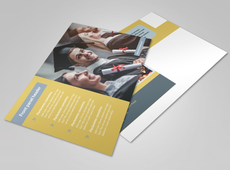 School Event Postcard Template Preview 4
