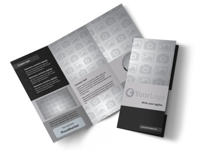 Generic Tri-Fold Brochure Template 9537
