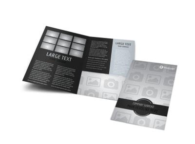 Generic Bi-Fold Brochure Template 9544
