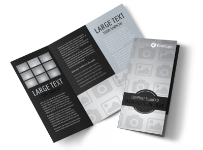 Generic Tri-Fold Brochure Template 9546