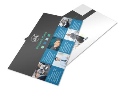 Portfolio Management Firm Postcard Template 2 preview