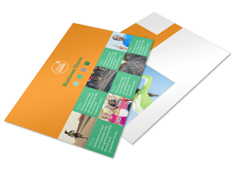 Your Next Running Club Postcard Template 2