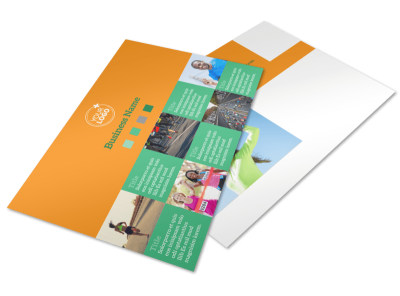 Your Next Running Club Postcard Template 2 preview